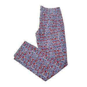 J Crew Toothpick Jeans 29 Liberty of London Ankle